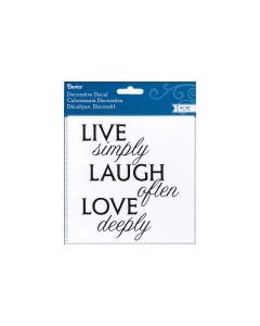 Darice Live Laugh Love...