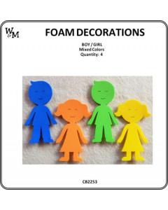 W&M Foam Pieces Boy & Girl...
