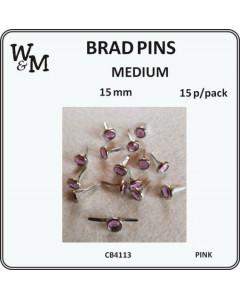 W&M Brad Pins Medium Pink...