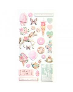 Prima Dulce Puffy Stickers...