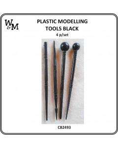 Plastic Modelling Tools 4 pcs