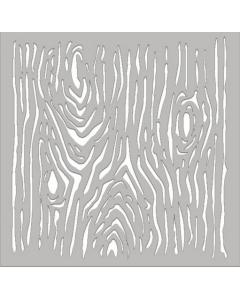 Fabscraps Stencil/Mask - Wood
