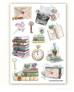 Fabscraps Life Stories Sticker Sheet
