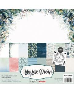 Penelope Dee 12x12 Paper Pack - Live Love Dream