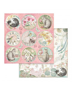 Stamperia Paper - Orchids &...