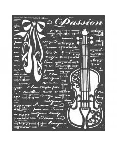 Stamperia Passion Stencil -...