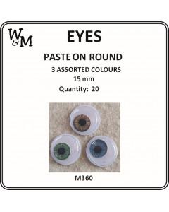 W&M Paste on Eyes Round 3...