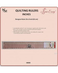 W&M Sew Easy Designer Ruler...