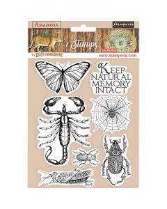 Stamperia Amazonia Cling...