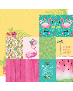 Paper House Flamingo Tags...