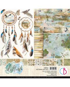 Ciao Bella 12 x 12 Paper Pad - Delta