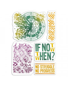 Ciao Bella Bad Girls Clear Stamps - If Not Now When