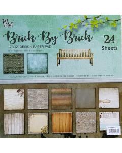 W&M 12 x 12 Pack Pack -  Brick By Brick