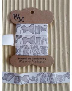 W&M Printed Ribbon Vintage...