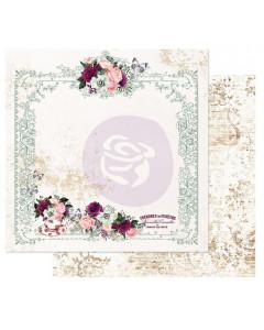 Prima Pretty Mosaic Paper - Tea and Roses