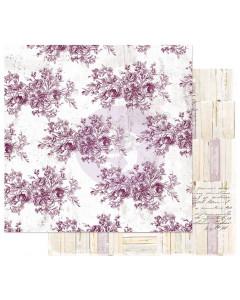 Prima Pretty Mosaic Paper - Floral Toile