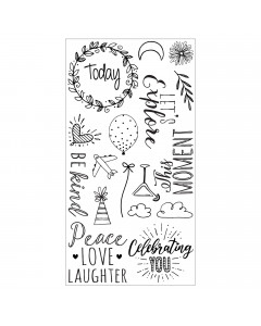 Sizzix Clear Stamp Everyday...