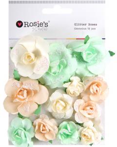 Rosies Studio Glitter Roses...