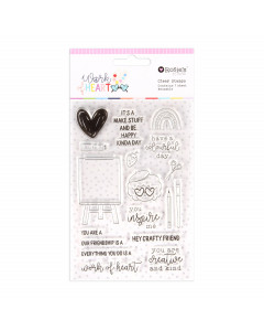 Rosies Studio Clear Stamp -...