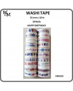 W&M Washi Tape - Happy...