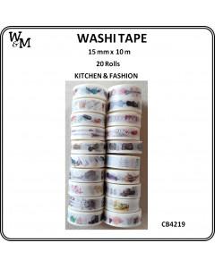 W&M Washi Tape - Kitchen &...