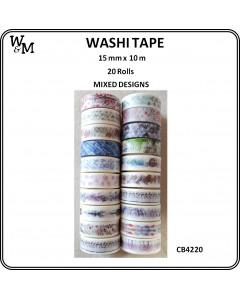 W&M Washi Tape - Mixed...