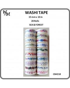 W&M Washi Tape - Sea &...