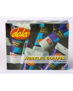 Dala Acrylic Colour 12 Tube...