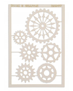Room 5 Chipboard - Fancy Cogs