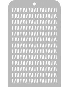 Kaisercraft Stencil - Strokes