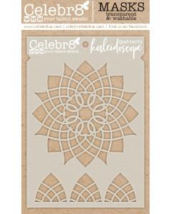 Celebr8 Stencil - Kaleidoscope