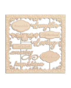 Scrap Collections Chipboard...