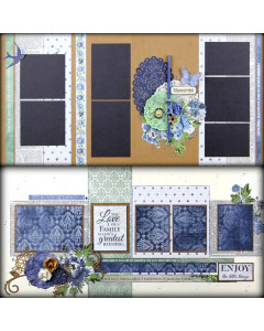 Create With Cariena Blue Kit