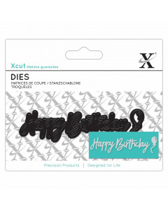XCUT Dies - Happy Birthday...