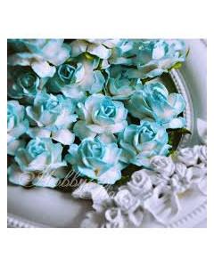 W&M Paper Roses Large Blue...
