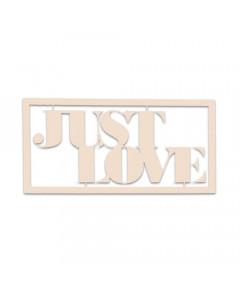 KCraft Chipboard - Just Love