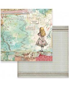 Stamperia Paper - Oh Alice
