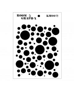 Room 5 Stencil - Dots