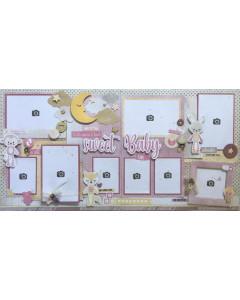 ScrapKits Sweet Baby Girl Kit