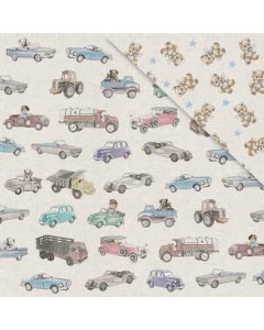 FabScraps Paper - Toy Cars