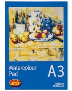 Dala Watercolour Pad A3...