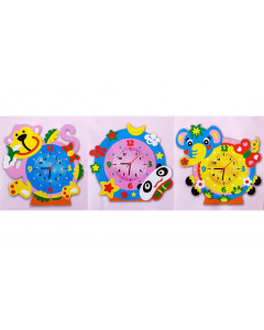 W&M Craft Kits Foam Clock...
