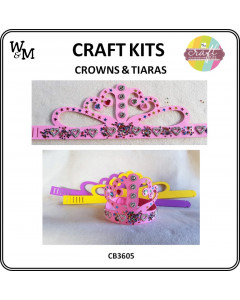 W&M Craft Kits Foam Tiara