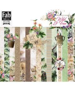 FabScraps Wild & Free 12 x...