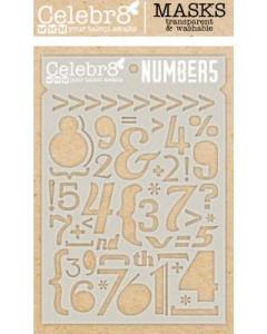 Celebr8 Stencil - Numbers