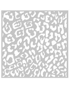 FabScraps 8 x 8 Stencil -...
