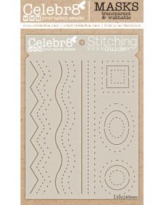 Celebr8 Stencil - Stitching...