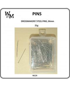 W&M Dressmakers Steel Pins...