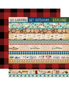 Carta Bella Gone Camping...