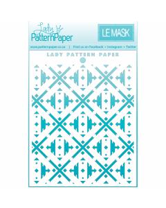 Lady Pattern Paper Le Mask...